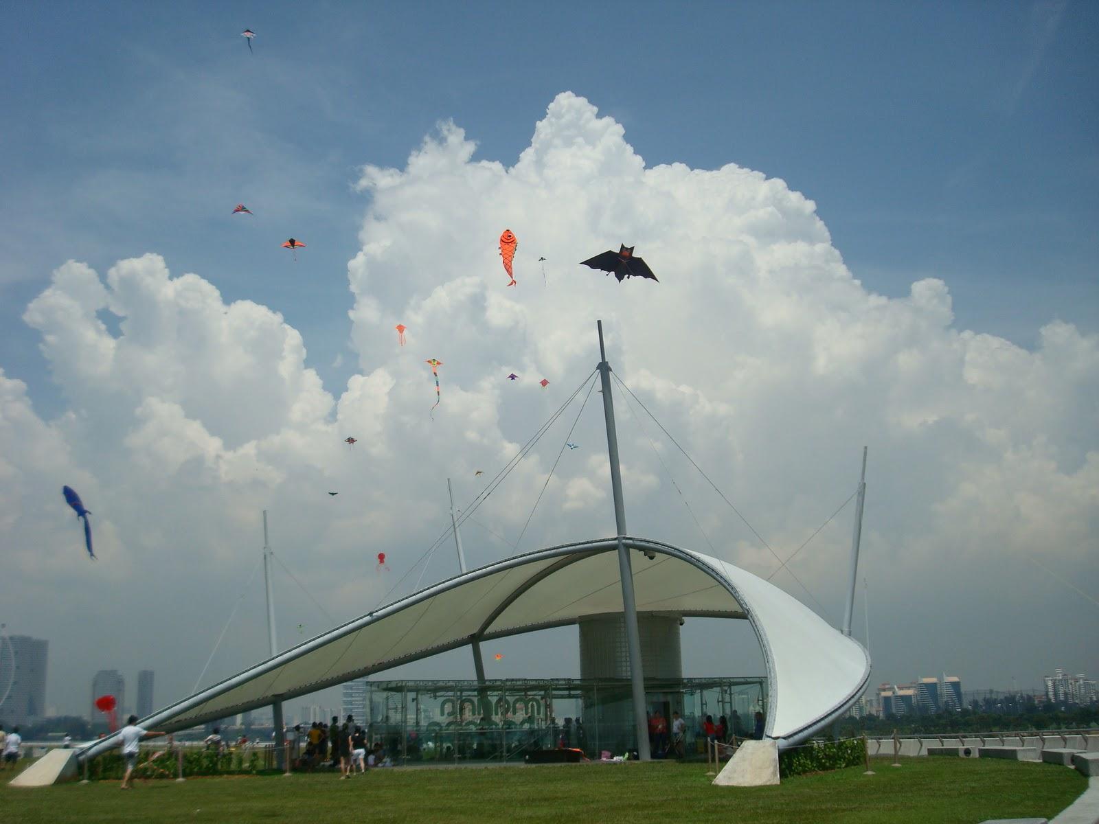 Kite Flying At Marina Barrage Clifton Phua S Blog