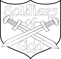 Free Bible School Materials: Soldiers of God Decorations
