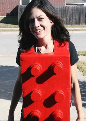 6c10c8ff disfraz de última hora: de pieza de lego - Todo Halloween, disfraces ...