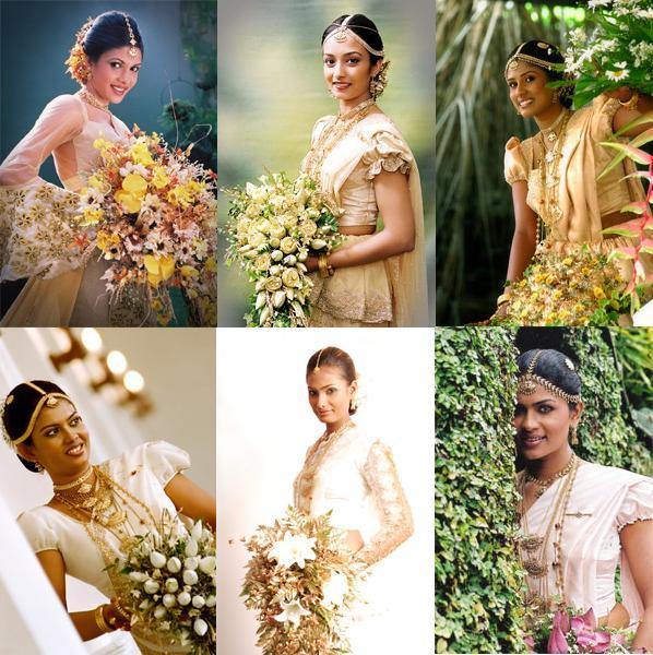 Wedding Hairstyle In Sri Lanka: Bridal Kandyan Saree Styles