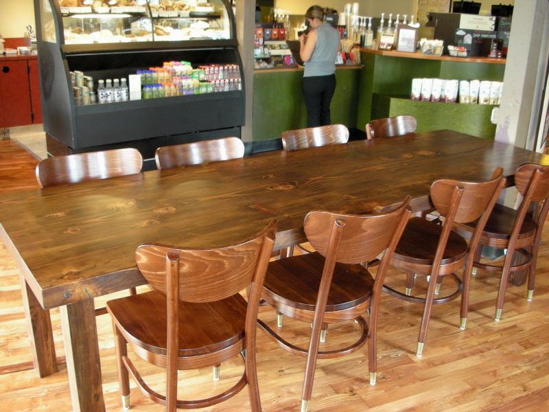 How To Check Oil >> FORWARD THINKING FURNITURE: Community table - Starbucks - Kona, HI
