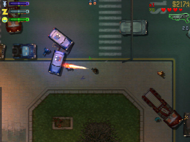 Grand Theft Auto II GTA jogos games