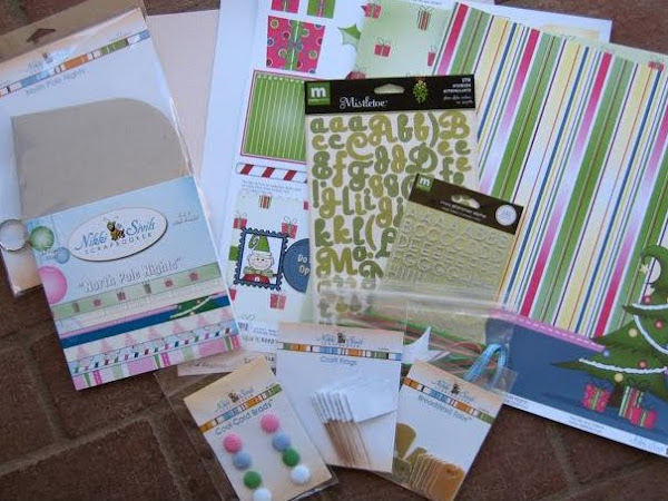 Giveaway Time!!!!  Kiki-Art Sneak Peek and Scrapbook Challenges Sketch 174