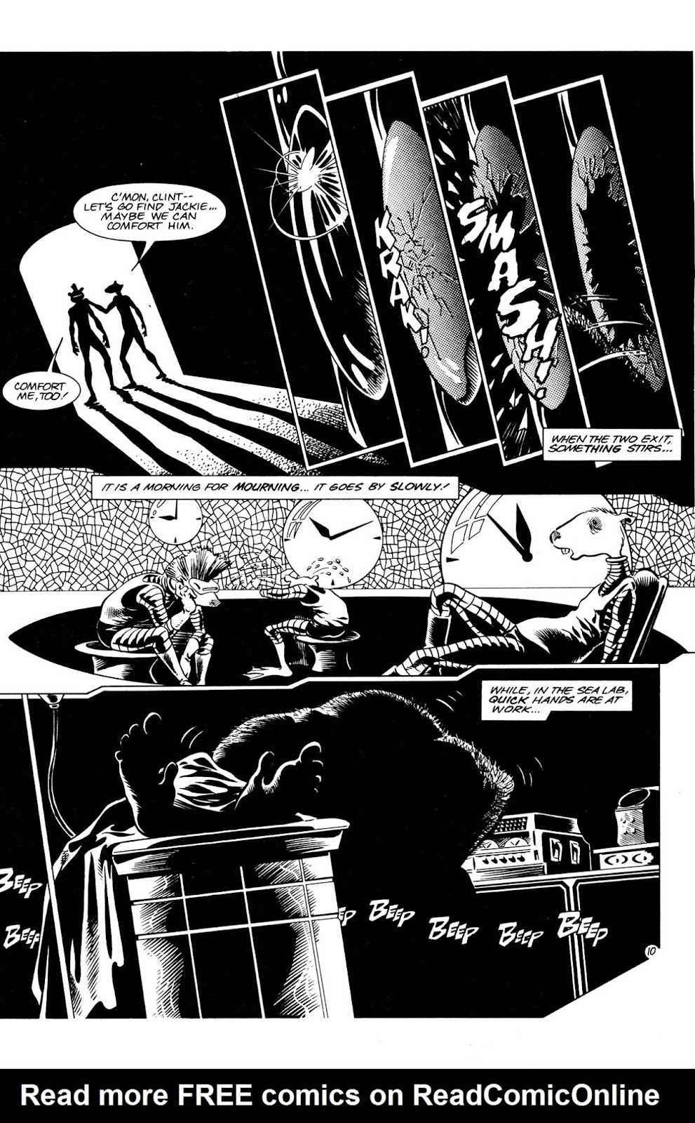 Adolescent Radioactive Black Belt Hamsters (1986) issue 8 - Page 11