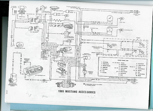 The Care and Feeding of Ponies: 1965 Mustang wiring diagrams