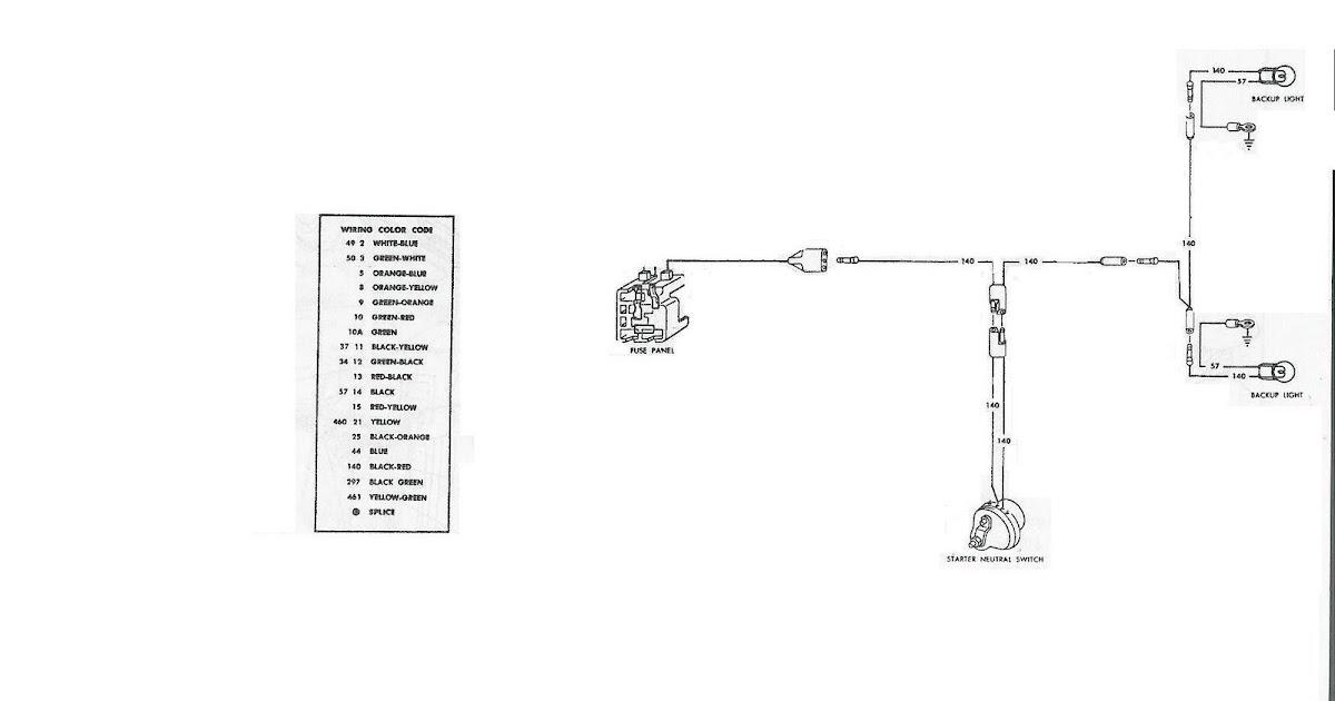 71 mustang dash wiring diagram