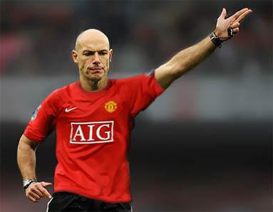 Howard Webb Man Utd