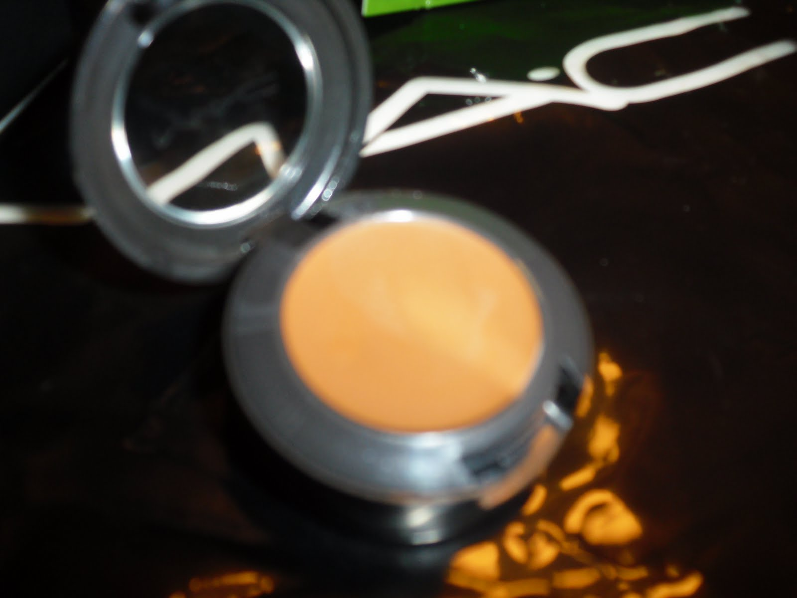 8514348bc78 It doesn t have a wet feeling like you d think. I love this bronzer because  it isn t glittery or gold. The color matches well with my complexion.
