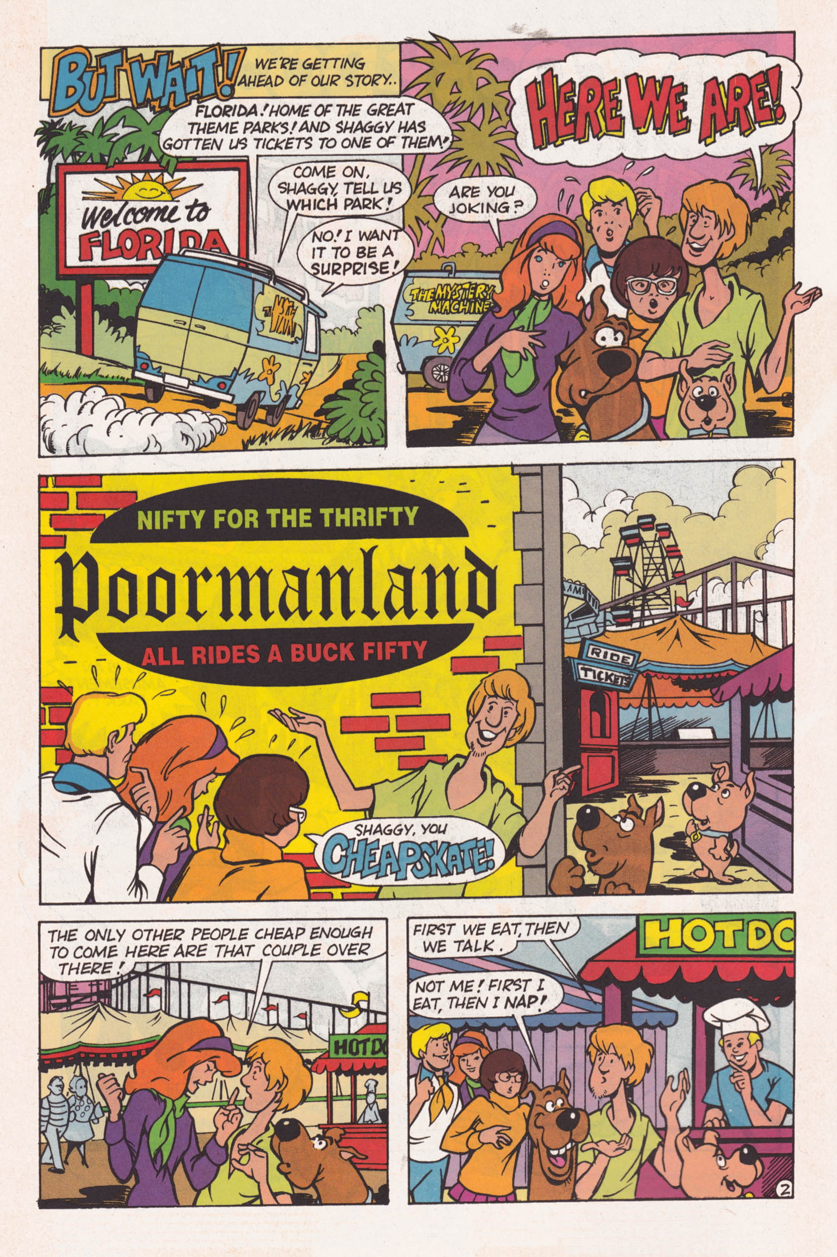 Read online Scooby-Doo (1995) comic -  Issue #1 - 3