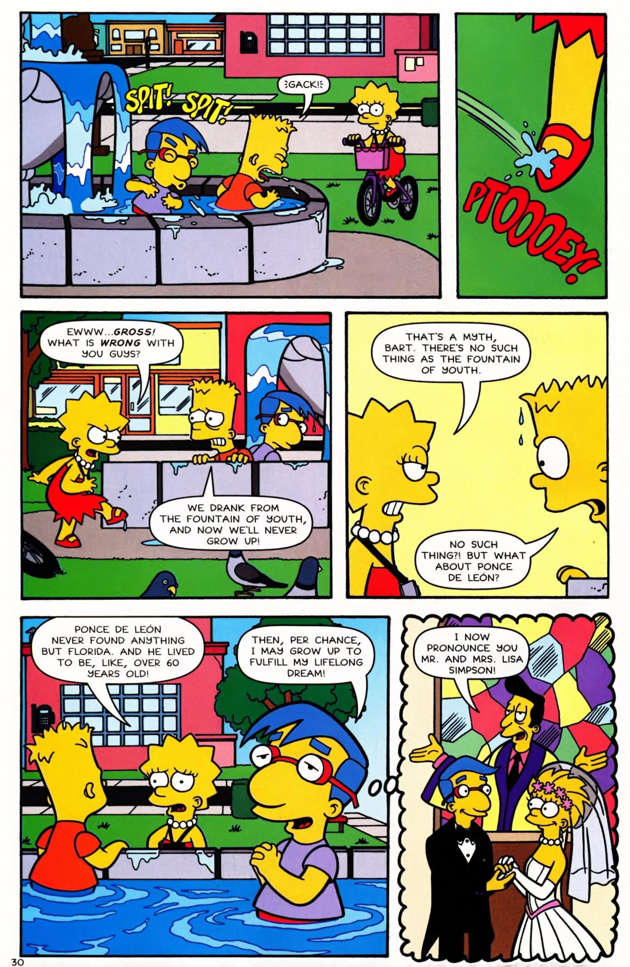 Read online Simpsons Comics Presents Bart Simpson comic -  Issue #42 - 32