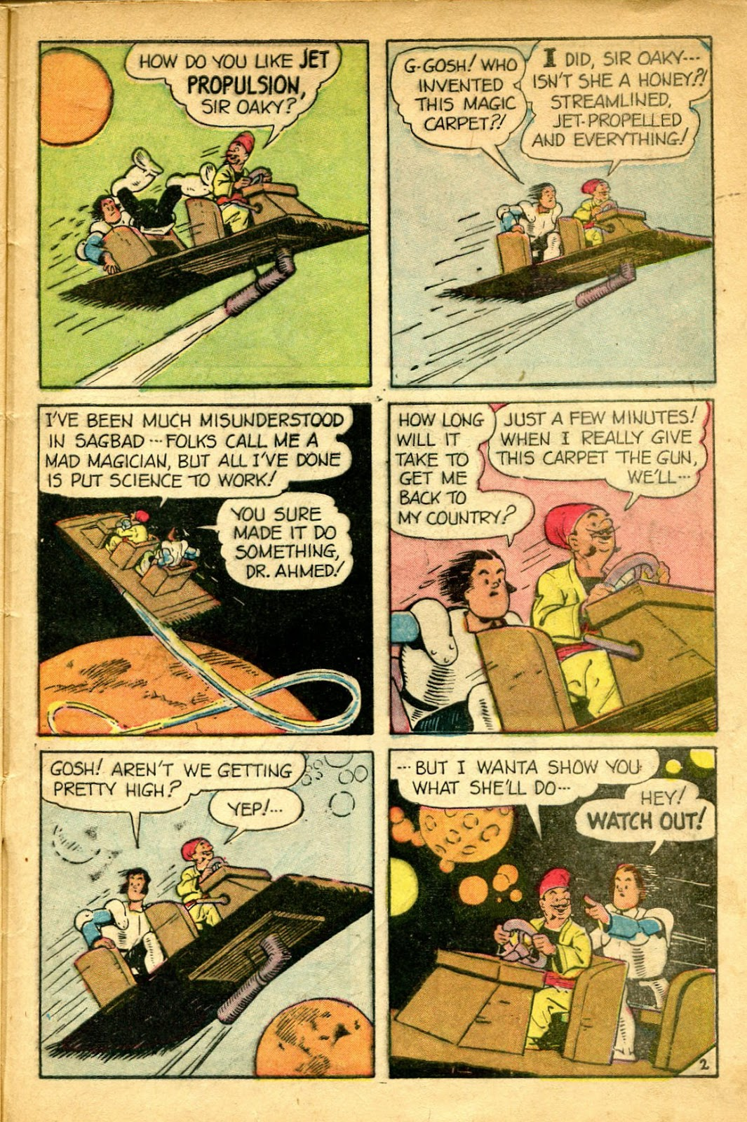 Read online Famous Funnies comic -  Issue #182 - 45