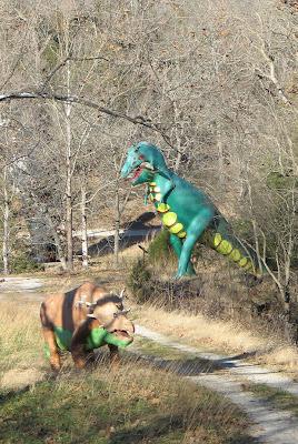 Dinosaur Park Arkansas : dinosaur, arkansas, SECRET, BLOG:, ABANDONED, DINOSAUR, WORLD