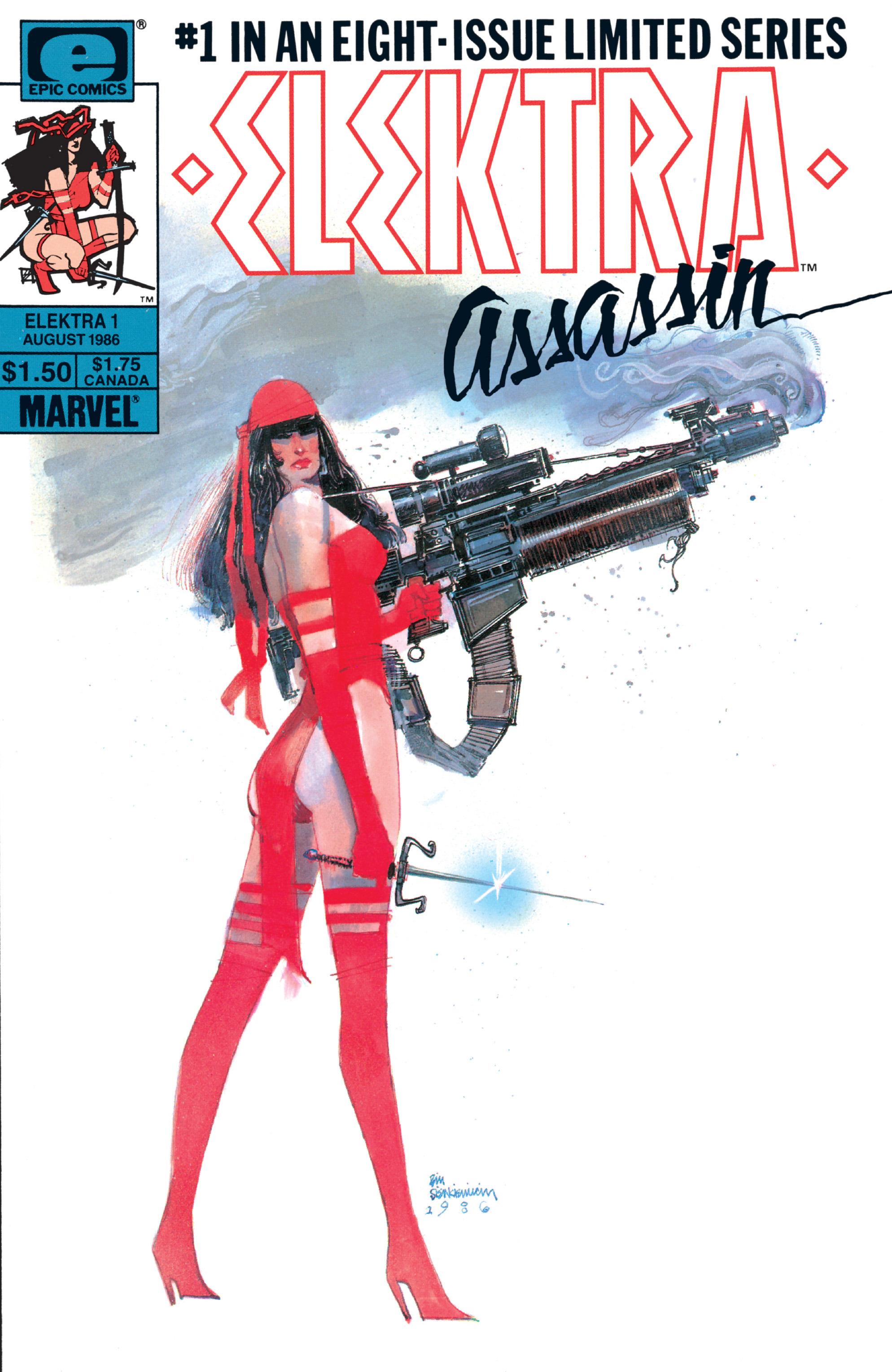 Elektra: Assassin 1 Page 1