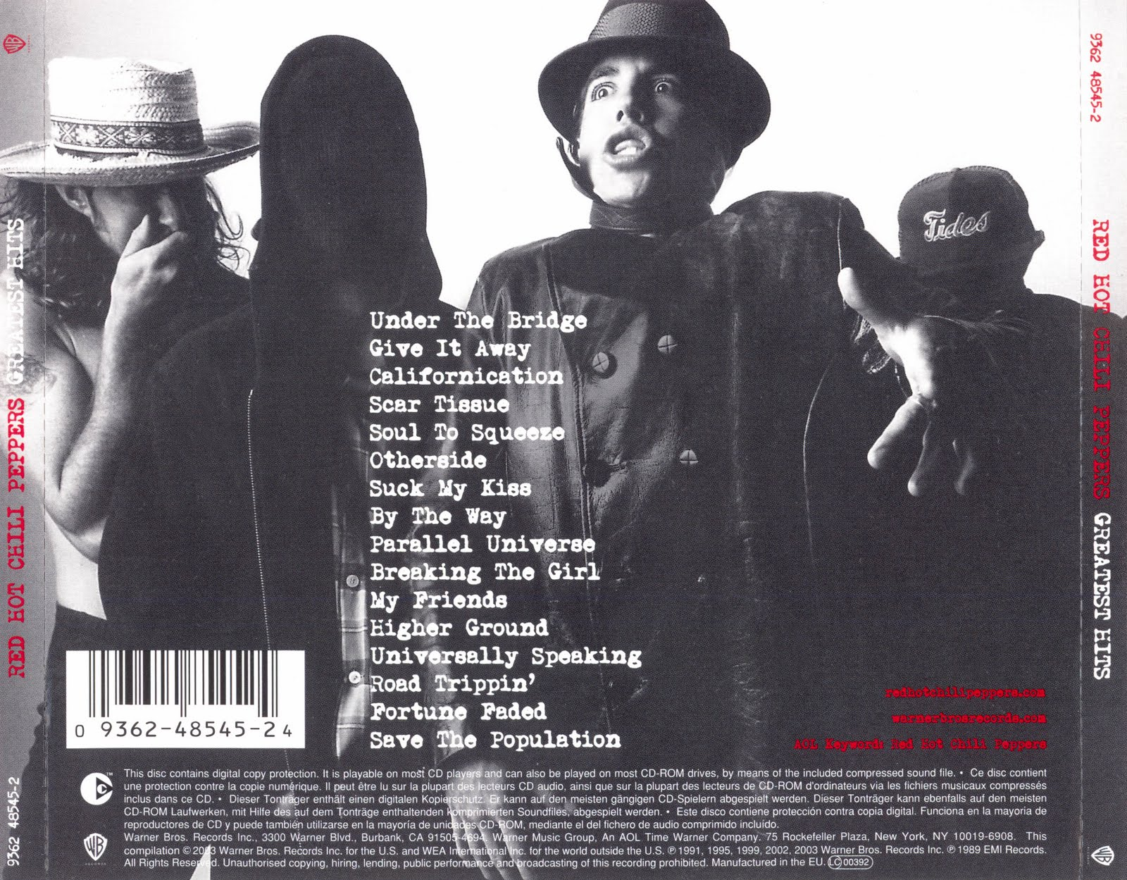 My Music Collection: Red Hot Chili Peppers