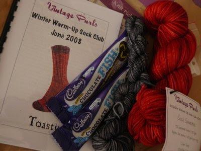 knit   knit   frog: Sock yarn club!