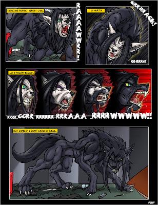 Werewolf Transformation Deviantart Female - iwate-kokyo