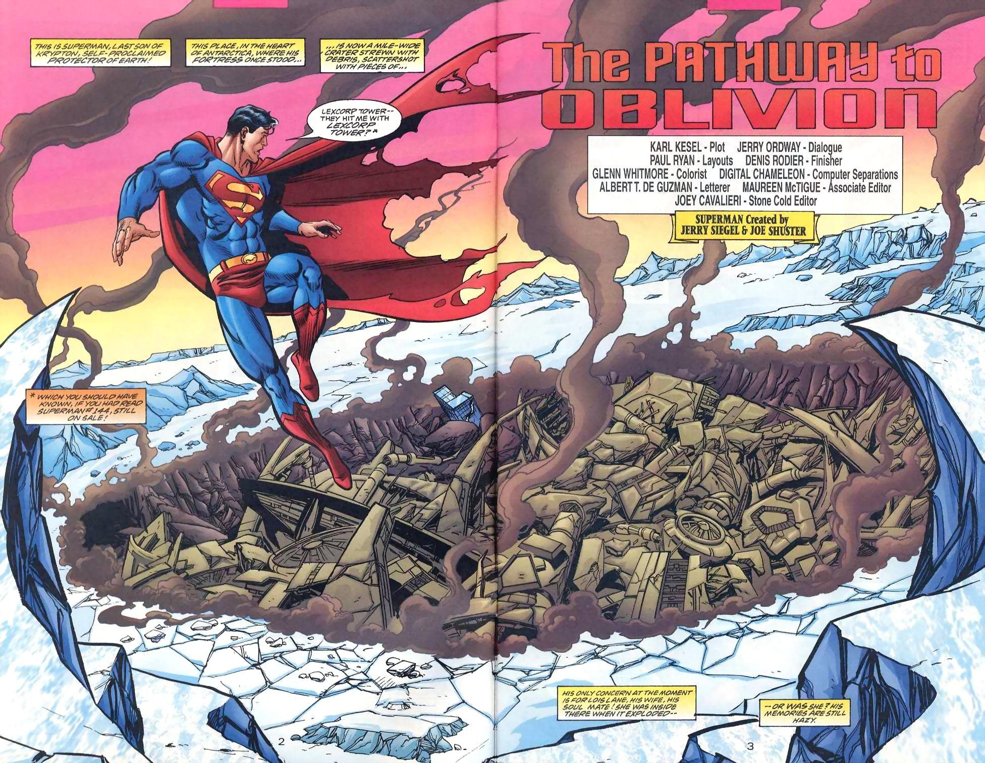 Read online Adventures of Superman (1987) comic -  Issue #567 - 3