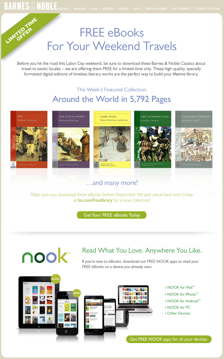 Find great deals on eBay for barnes noble free ebooks. Shop with confidence.