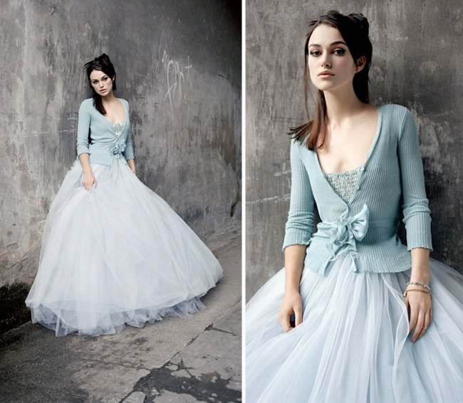 Winter Wonderland Wedding Gowns: The Proposal: Baby, It's Cold Outside
