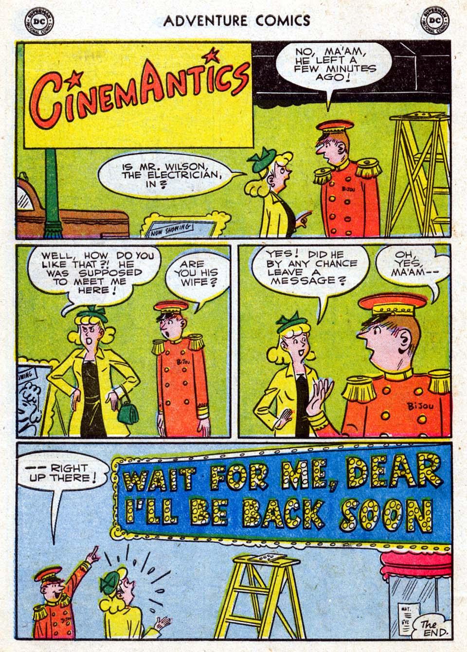 Read online Adventure Comics (1938) comic -  Issue #211 - 34