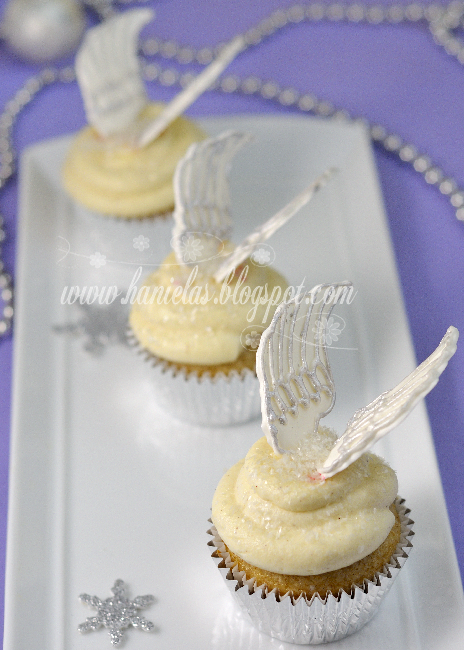 Haniela S Angel Wings Cupcakes