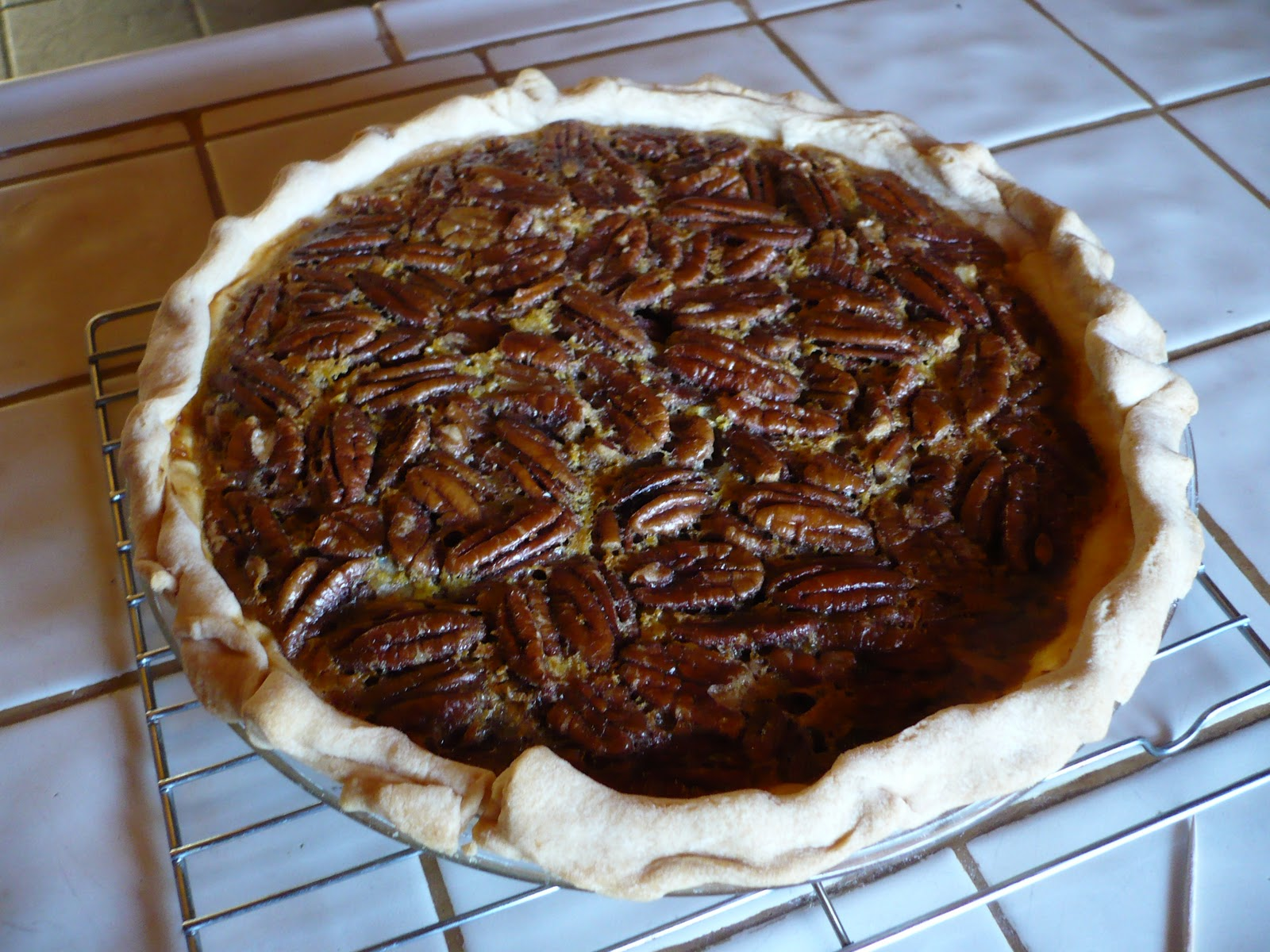Gilligan's Gourmet Jack Daniels chocolate chip pecan pie.