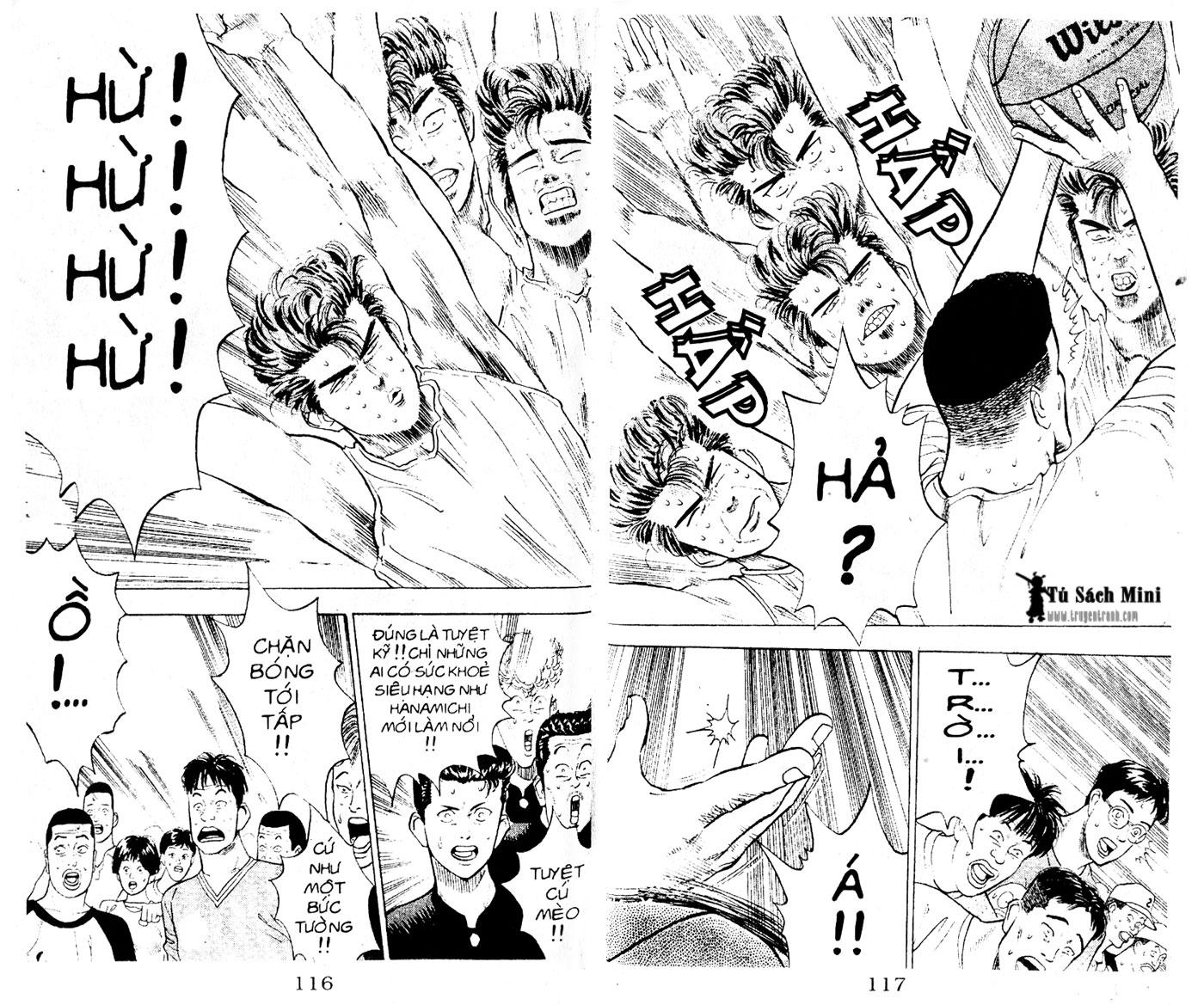 Slam Dunk chap 5 trang 16