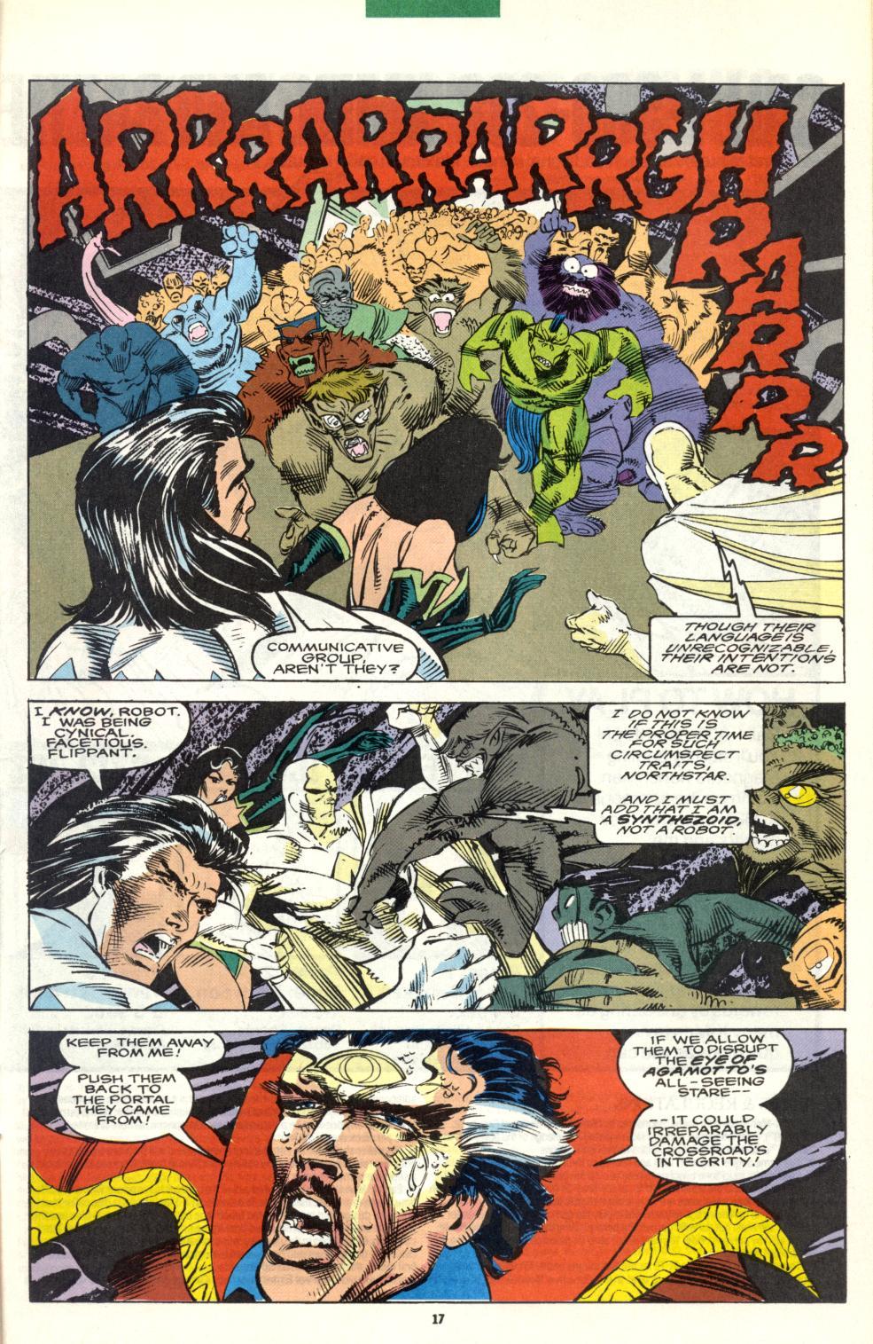 Read online Alpha Flight (1983) comic -  Issue #101 - 15