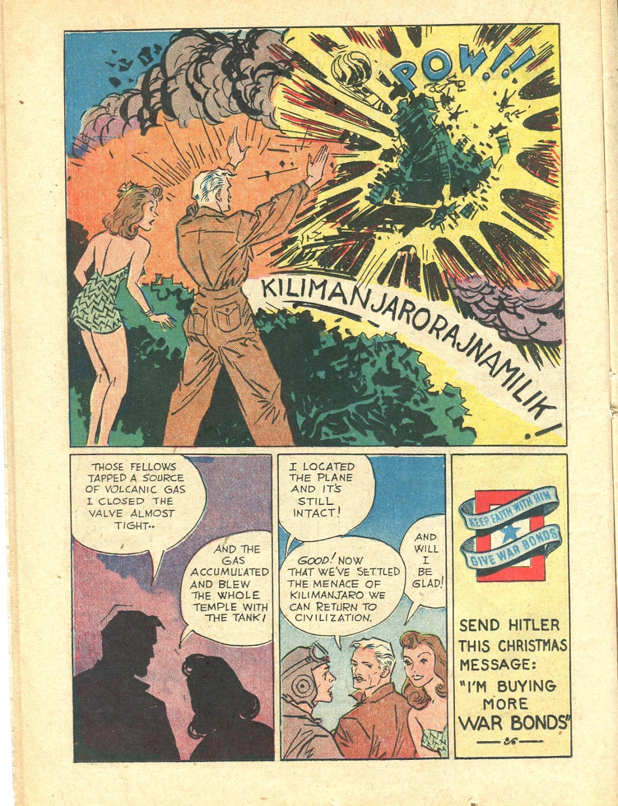 Read online Super-Magician Comics comic -  Issue #21 - 26