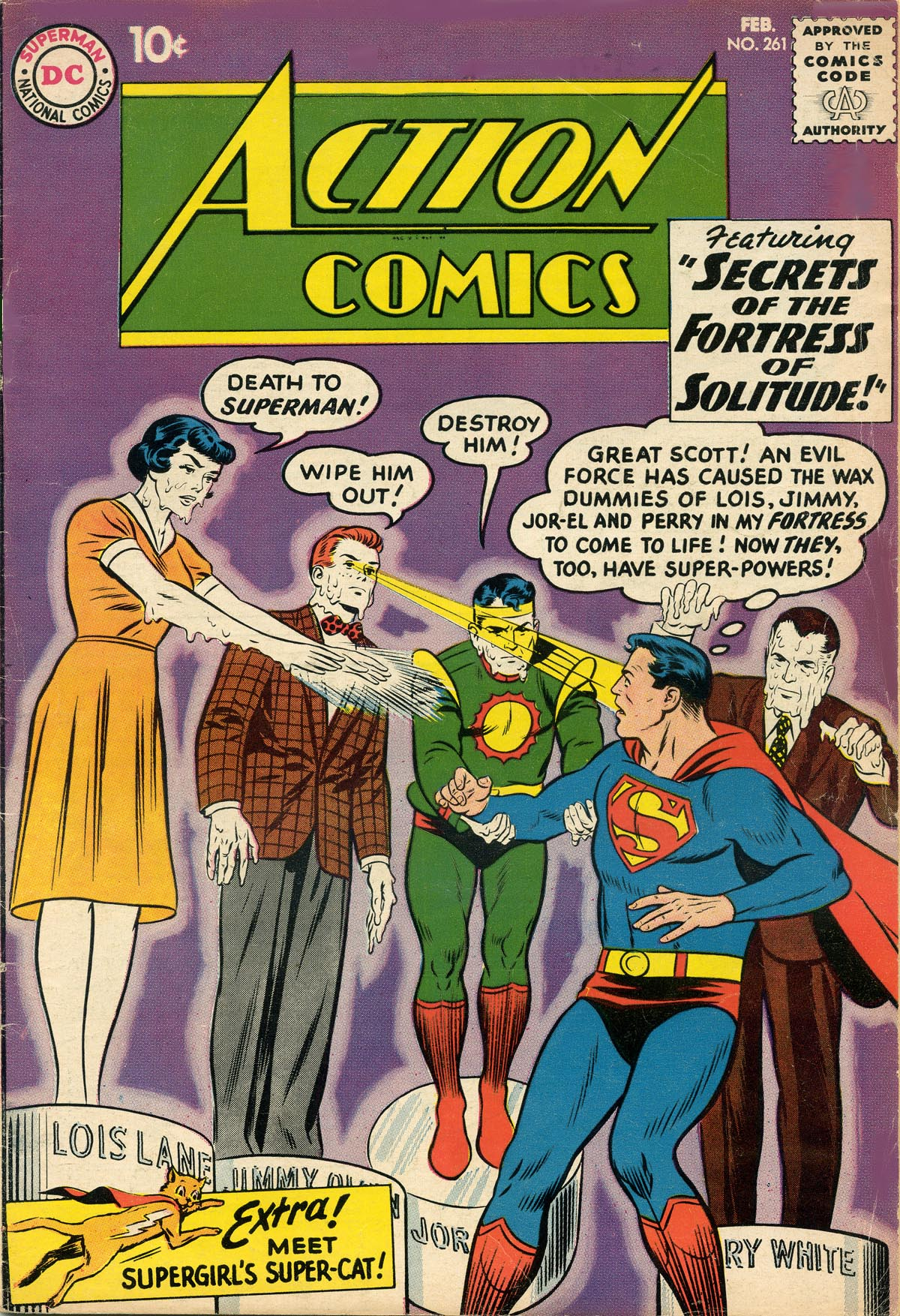 Read online Action Comics (1938) comic -  Issue #261 - 1