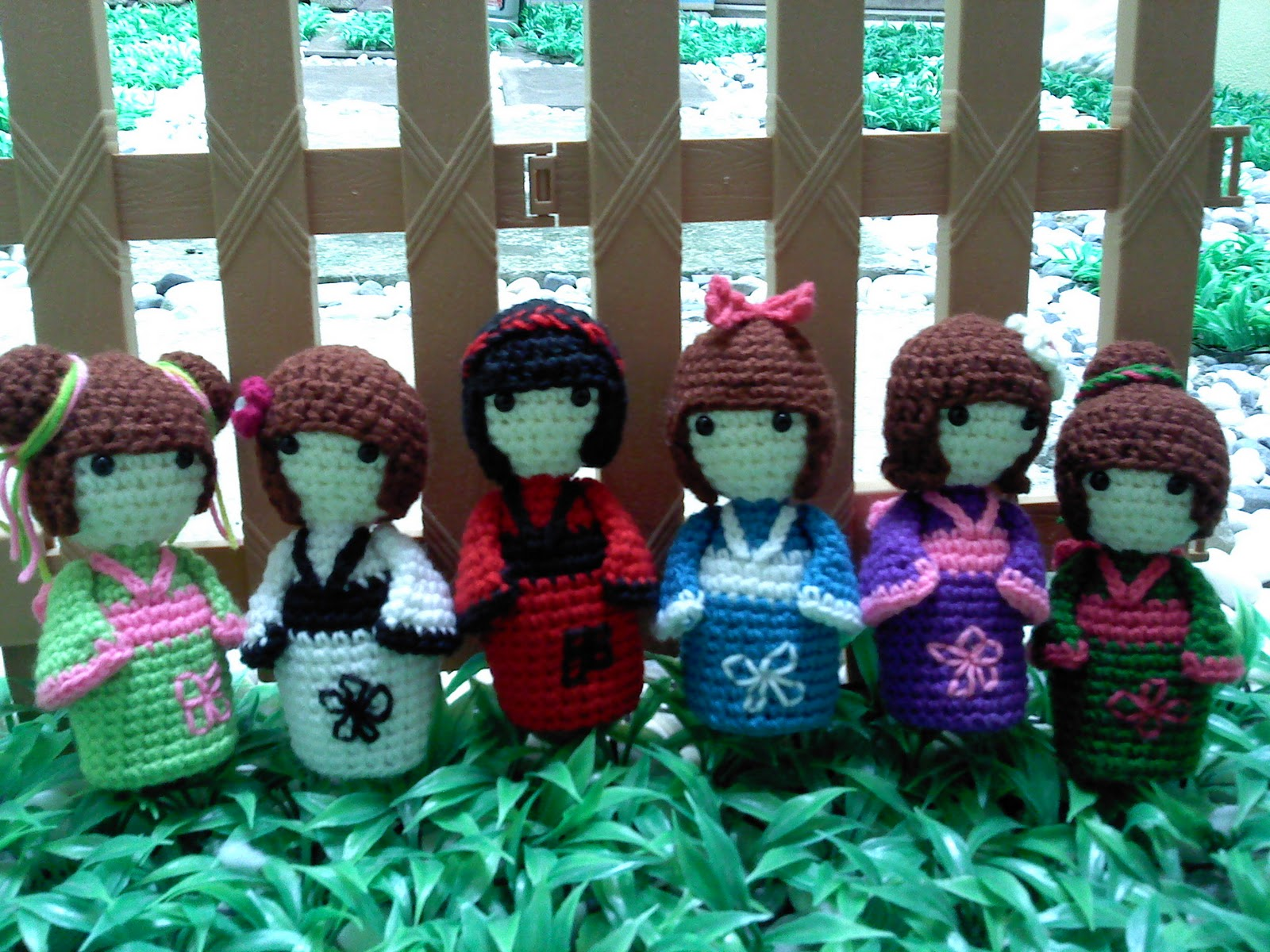 Kokeshi Amigurumi Doll Crochet PDF pattern Japanese little | Etsy | 1200x1600