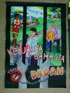Panitia Seni Visual Smktar Pertandingan Poster Anti Dadah 2009