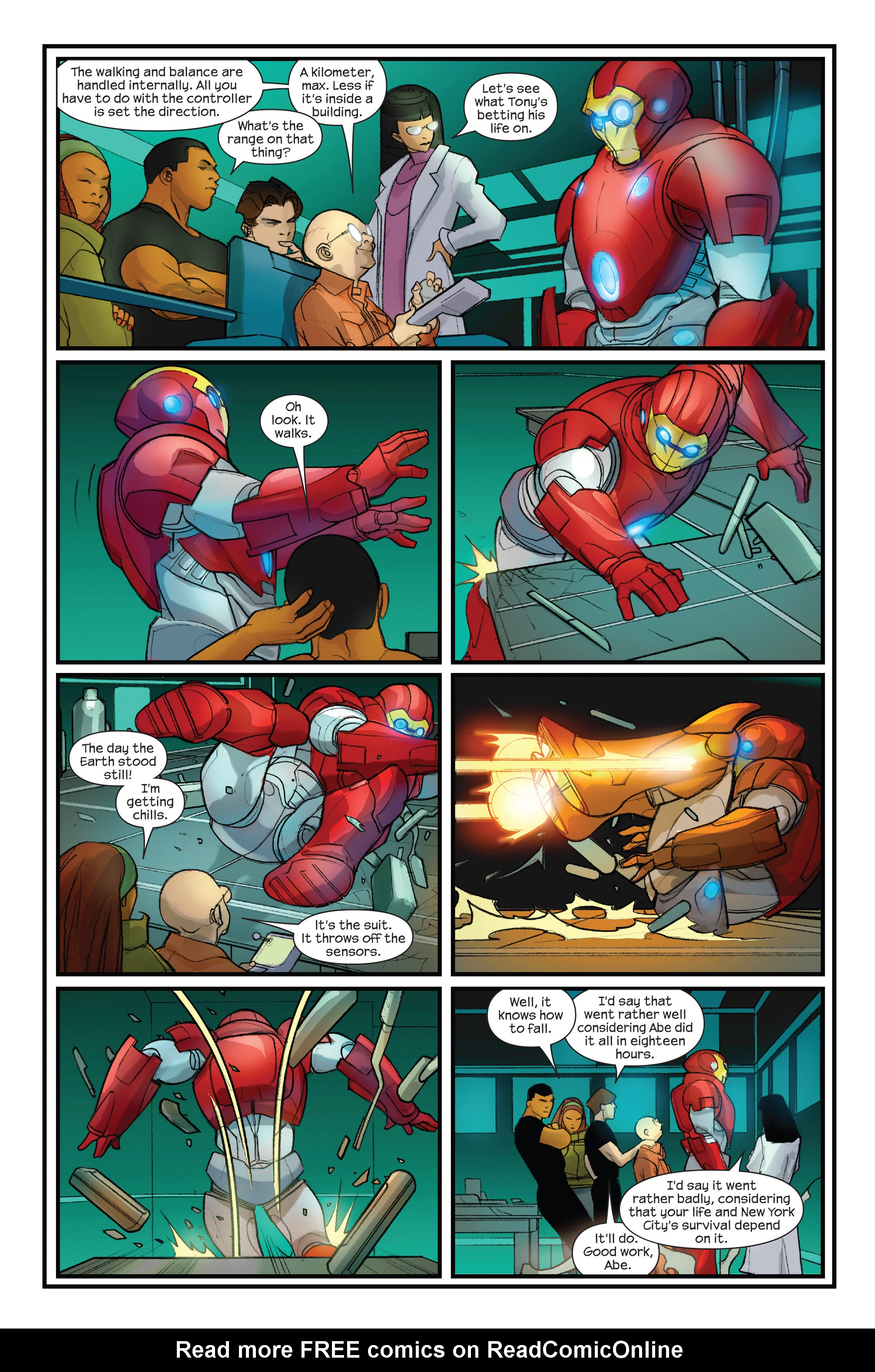 Read online Ultimate Iron Man II comic -  Issue #3 - 11