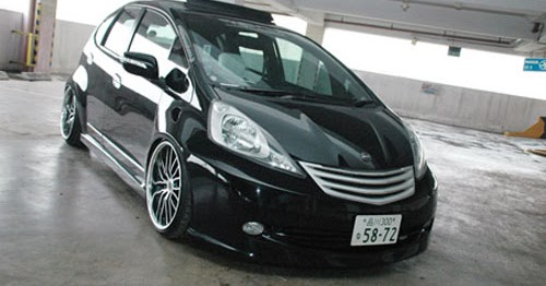 Car Modification Gallery Honda Jazz Elegant Concept With