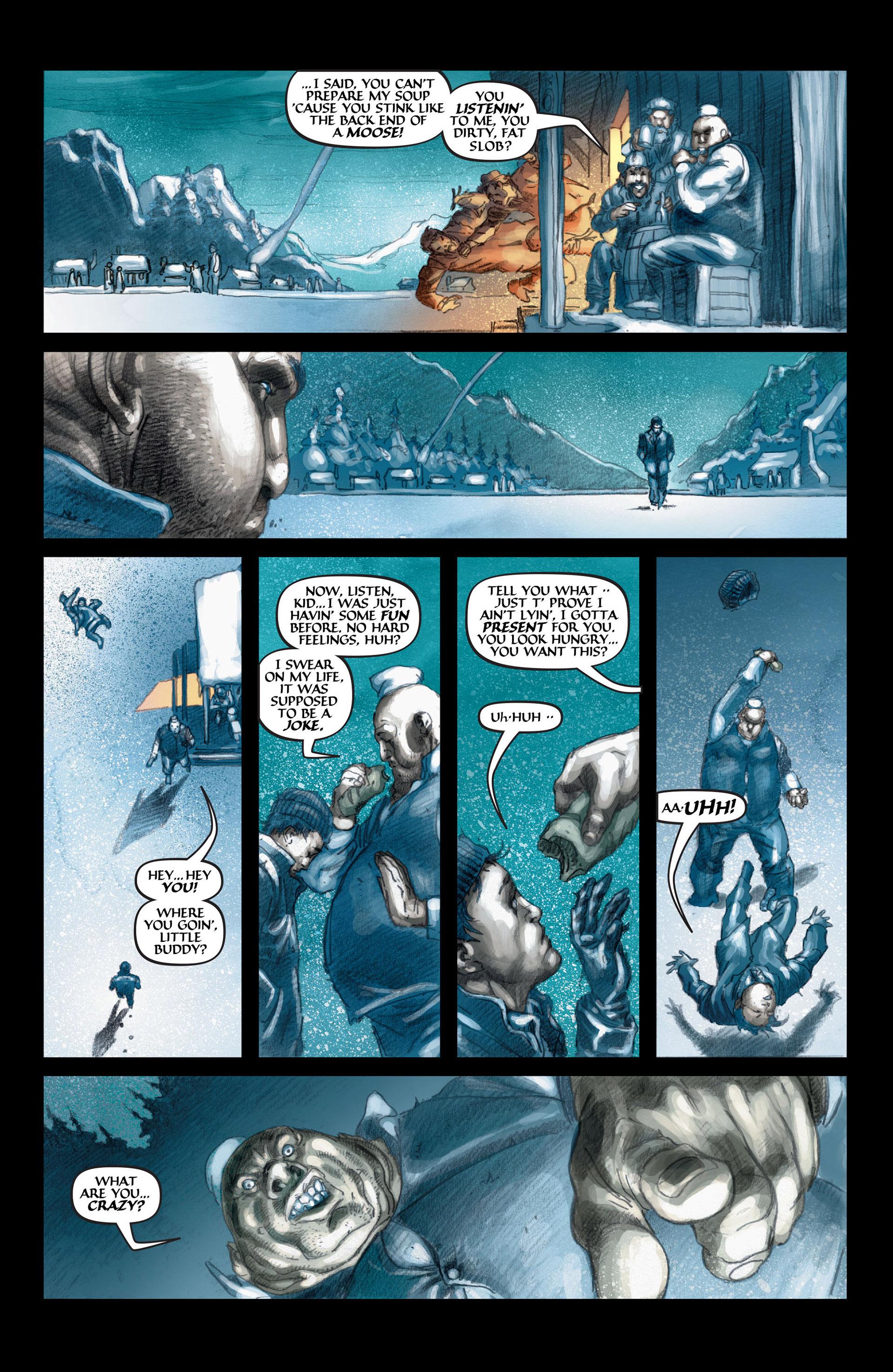 Read online Wolverine: The Origin comic -  Issue #4 - 10