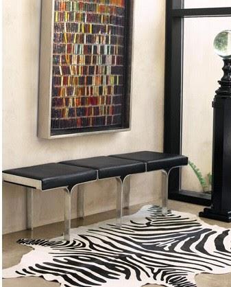 Bromeliad How To Make A Faux Zebra Hide Rug Fashion And Home Decor Diy Inspiration