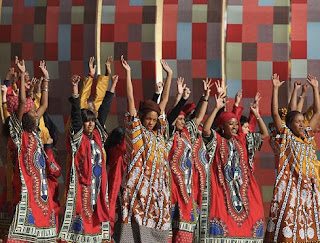 FIFA World cup opening ceremony pic