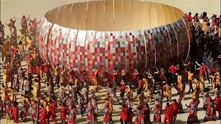 FIFA World Cup 2010 opening ceremony in South Africa