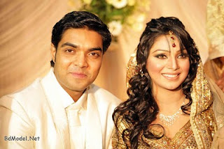 Sadiya Jahan Prova and her boy-friend Rajib Hassan