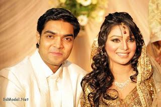 Sadiya Jahan Prova and her boy-friend Rajib Hassan