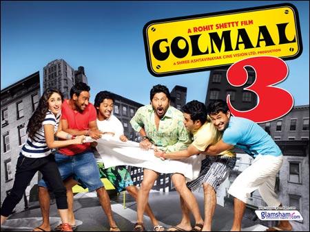 Golmaal 3 Bollywood Hindi movie wallpapers, information, review