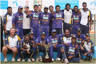 Sri Lanka Cricket Team Members List for ICC World Cup Cricket 2011