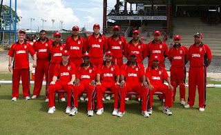 Name of Canada Cricket team Player list for ICC World Cup 2011