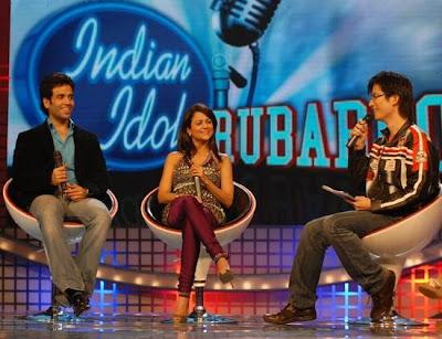 Amrita+Tusshar+Indian+Idol+3