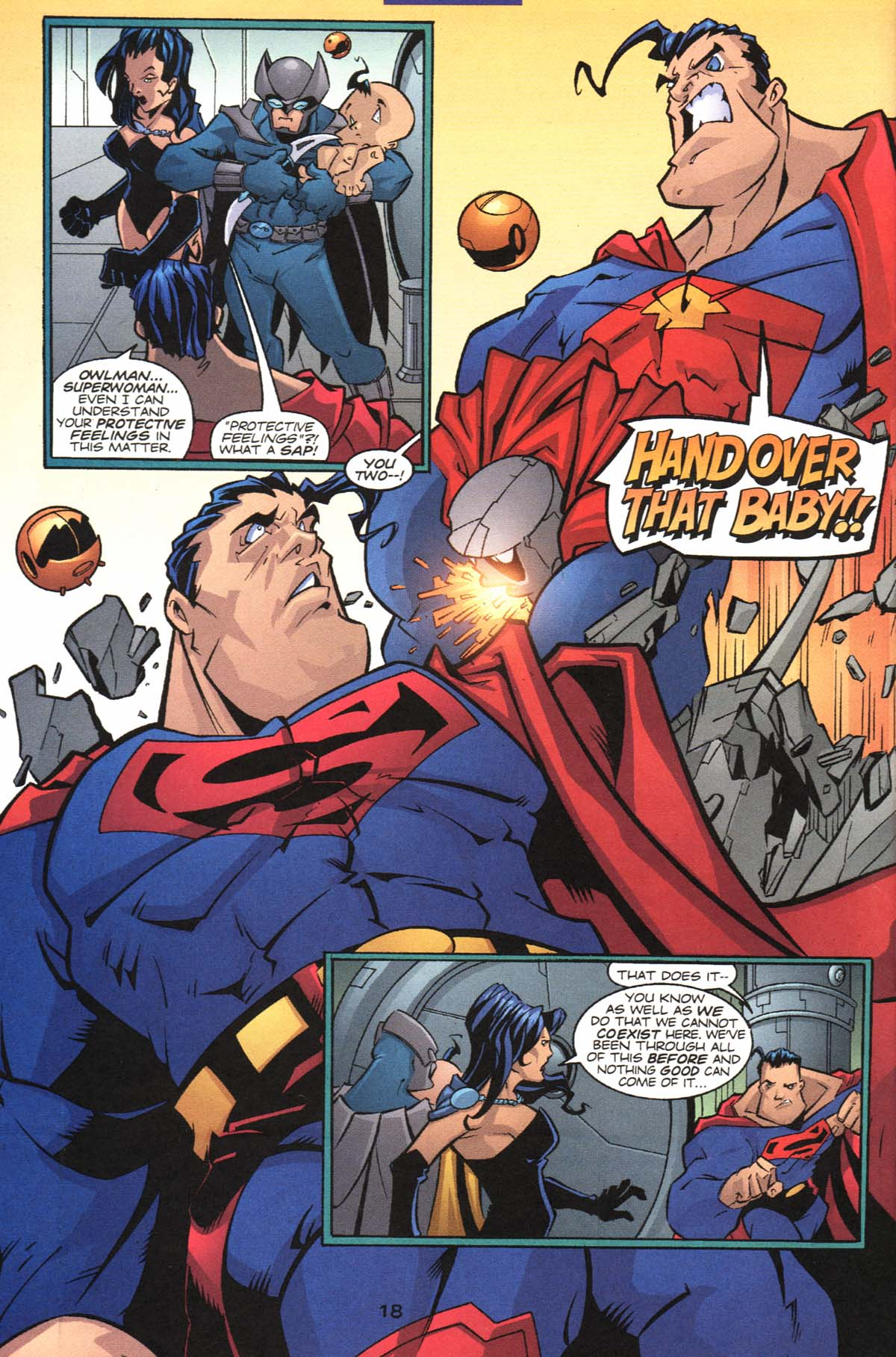 Read online Adventures of Superman (1987) comic -  Issue #604 - 21