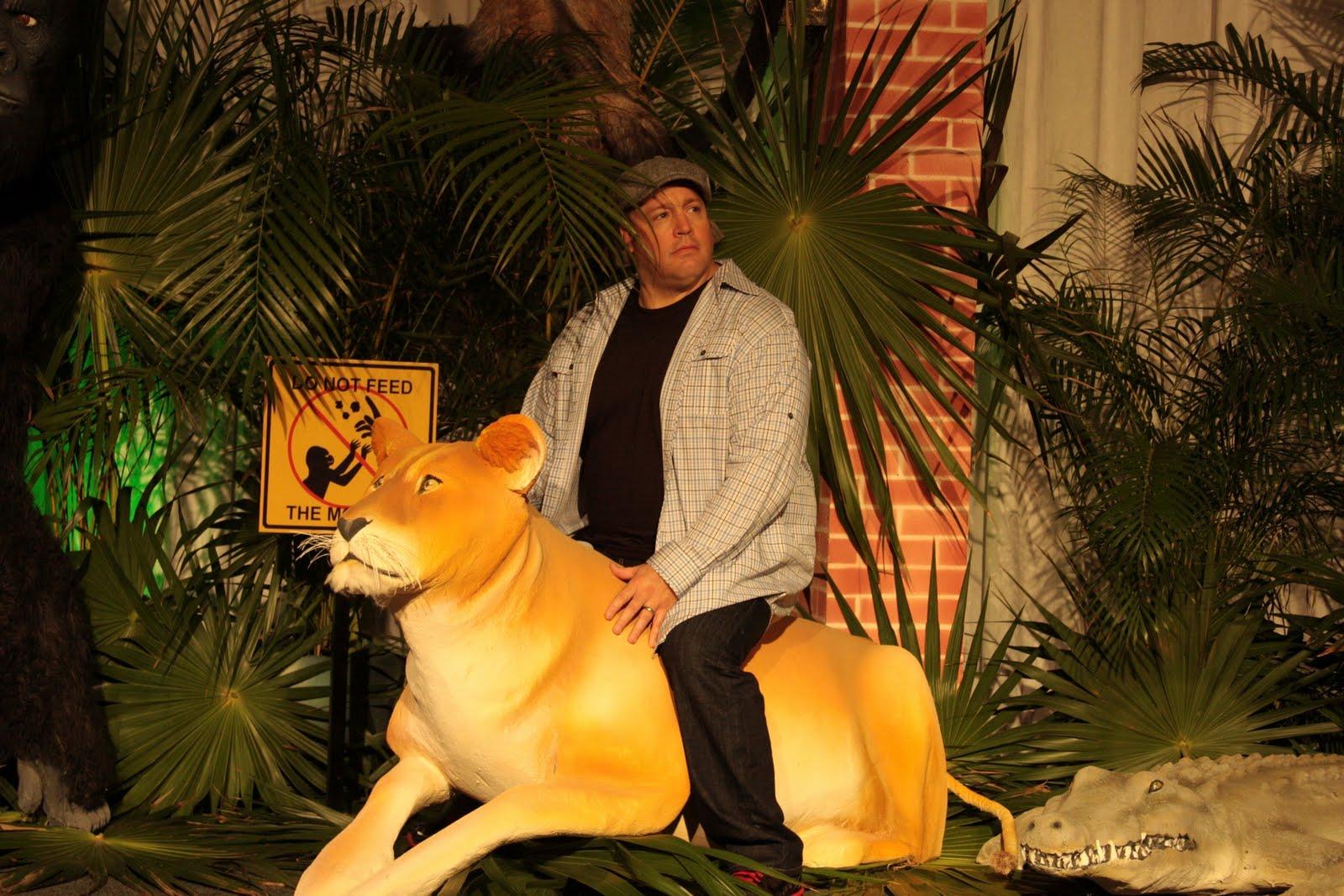 Kevin James Gardien de zoo dans Zookeeper : Actu Film