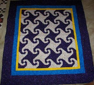 Snails Tail Quilt Pattern Free Quilt Pattern
