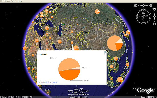 master maps: Using Google Charts with KML