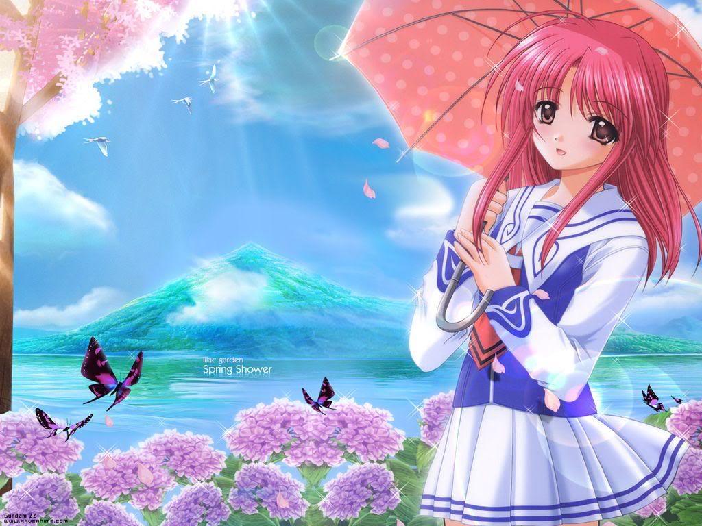 Anime Girls Lucu Keren