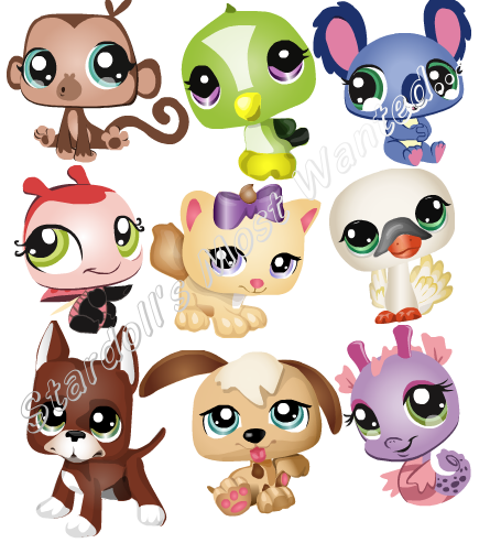 new littlest pet shop stardoll s most wanted